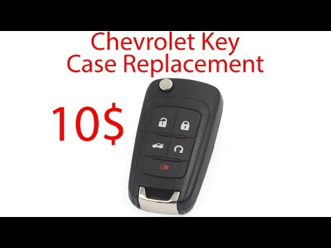 DIY Chevrolet Key Fob Replacement How to (Cruze-Camaro-Equinox-Sonic)