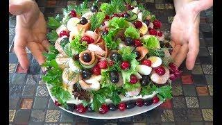 Бутербродный торт Svensk smörgåstårta Кулинарная бомба по-скандинавски Меню на Новый год 2020