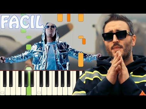 Duele – Reik, Wisin & Yandel –  Piano – Facil – Synthesia