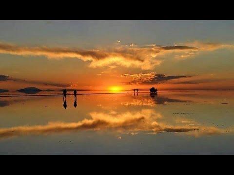 God Biggest Mirror Of Salt Salar De Uyuni Bolivia Youtube