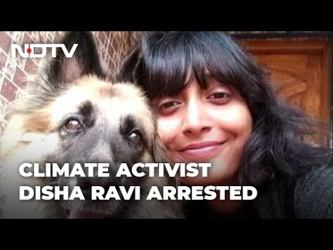 Download Activist Disha Ravi, 22, Arrested Over Greta Thunberg Toolkit, Faces Conspiracy Charge