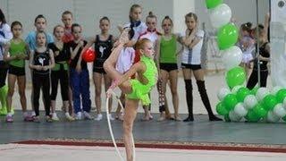 Соревнования по художественной гимнастике 18 мая 2014 года Кубок Мэра города Новосибирска