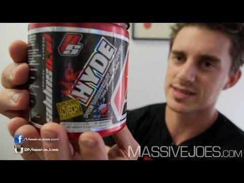 ProSupps Mr Hyde Pre-Workout - MassiveJoes.com RAW REVIEW Pro Supps Supplement Hide