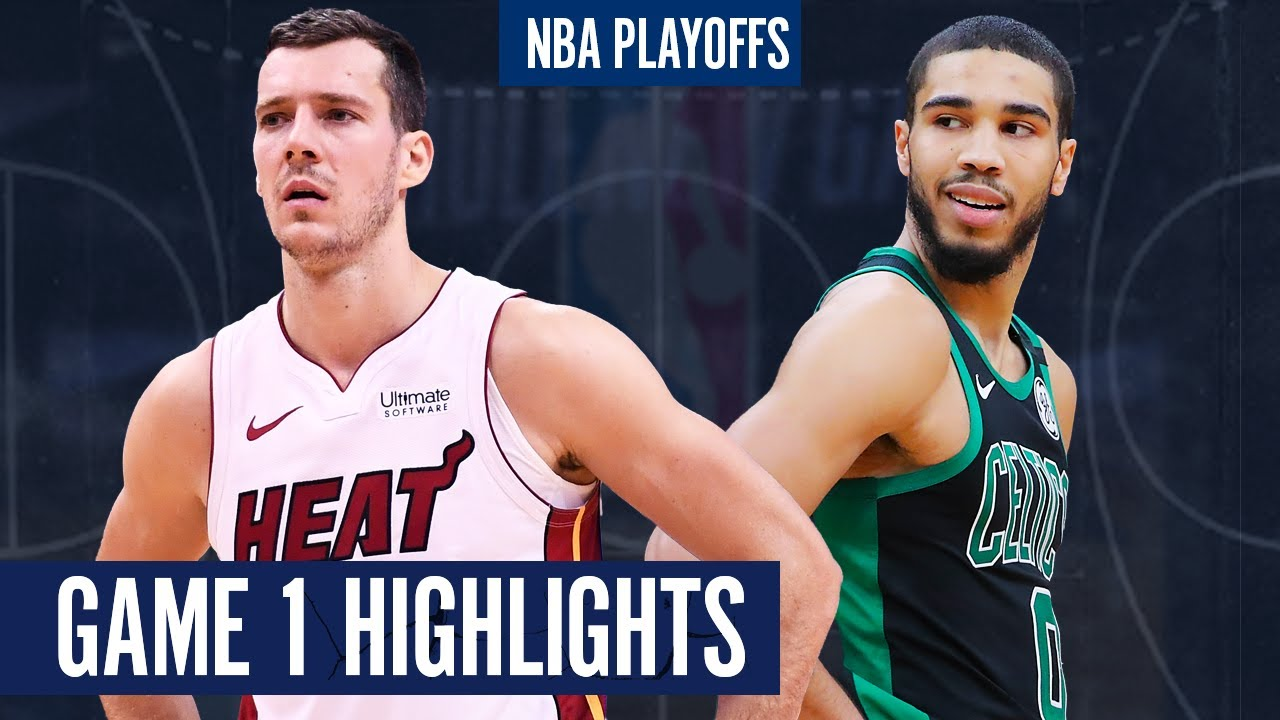 HEAT vs CELTICS GAME 1 - Full Highlights