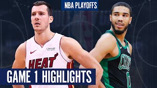HEAT vs CELTICS GAME 1 - Full Highlights   2020 NBA PLAYOFFS