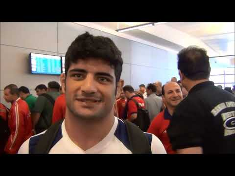 IRAN National Wrestling Team at LAX