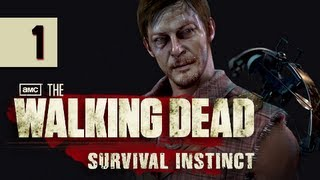 The Walking Dead Survival Instinct Gameplay Walkthrough - Part 1 The Road Before Atlanta Let