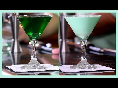 ☘️ 2 Saint Patrick's Day Drinks ☘️ Grasshopper v.s. Everybody's Irish Cocktail