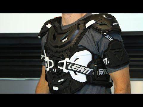 Leatt 5.5 Pro Chest Protector-Black-Adult