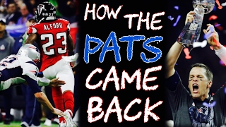 How the Patriots MADE a 25 Point COMEBACK!