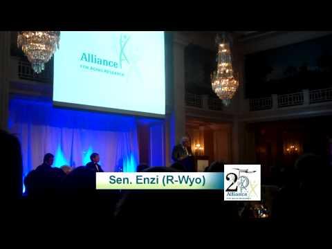 Sen. Enzi Accepts 2011 Connie Mack Award