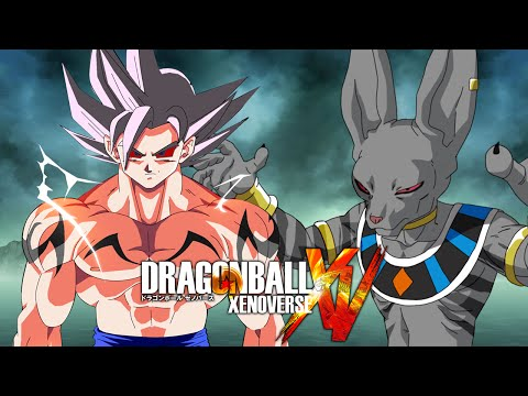 Demon God Goku VS White Tiger Beerus | Dragon Ball Xenoverse MODS (Duels)