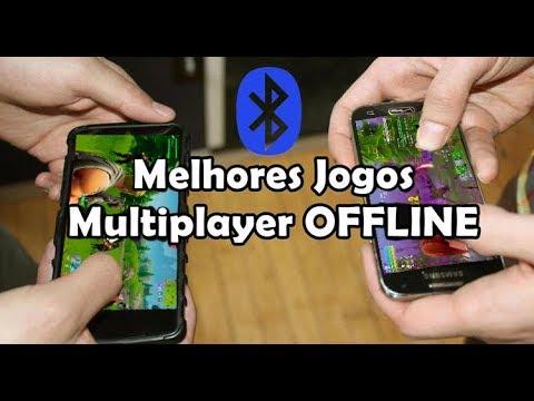 Os Melhores Jogos Multiplayer OFFLINE No Android (Bluetooth E Wi-Fi Local)