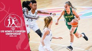 France v Lithuania - Full Game - FIBA U16 Women's European Championship 2019