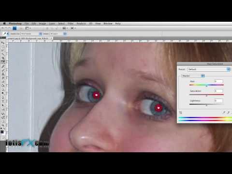 "fotisfx.com | Photoshop:Διόρθωση ""κόκκινων"" ματιών!"