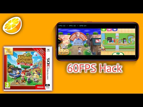Animal Crossing New Leaf Citra Android MMJ [60 FPS Cheat]