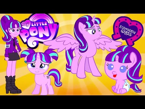 My Little Pony Transforms - Princess Starlight Glimmer Baby Teen Alicorn  Human - MLP Videos For Kids - YouTube