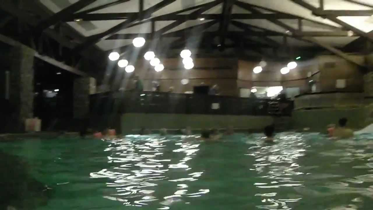 Disneyland Paris 2011 Sequoia Lodge Piscine Swimming Pool Youtube