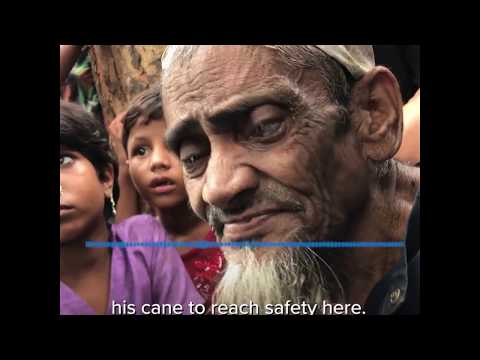 Elderly Rohingya Refugees Are Struggling To Reach Safety - UNHCR Canada