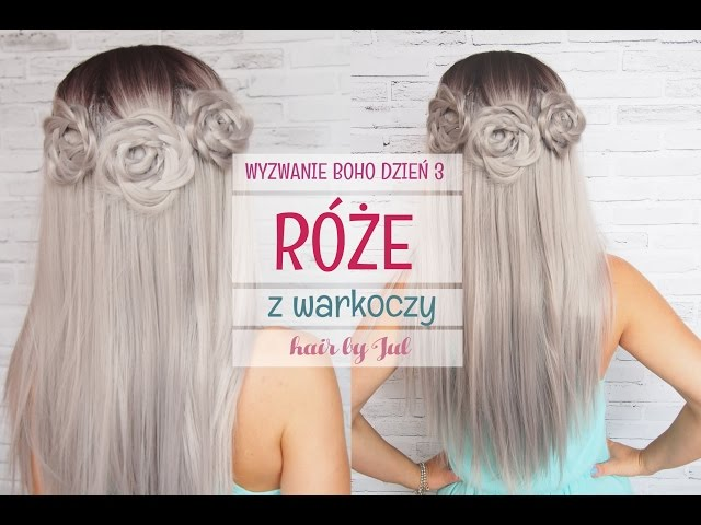 Fryzury boho - 7 fryzur w 7 dni, dzień 3 - hair by Jul