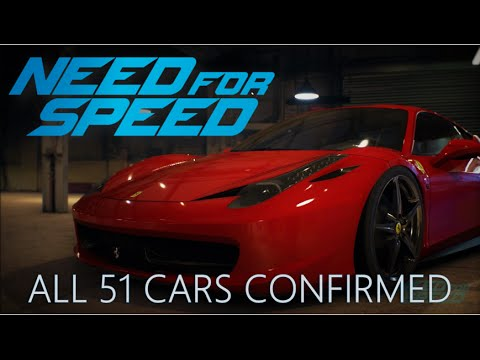 need for speed 2015 full car list all 51 cars confirmed for launch youtube. Black Bedroom Furniture Sets. Home Design Ideas