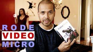 Rode VideoMicro Review - Indoor and Outdoor Demo