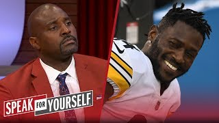 Marcellus Wiley: AB's trade from Steelers didn't prove players have power | NFL | SPEAK FOR YOURSELF