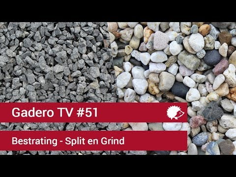 #51 Bestrating: Alles Over Grind En Split Voor Je Oprit Of Looppad