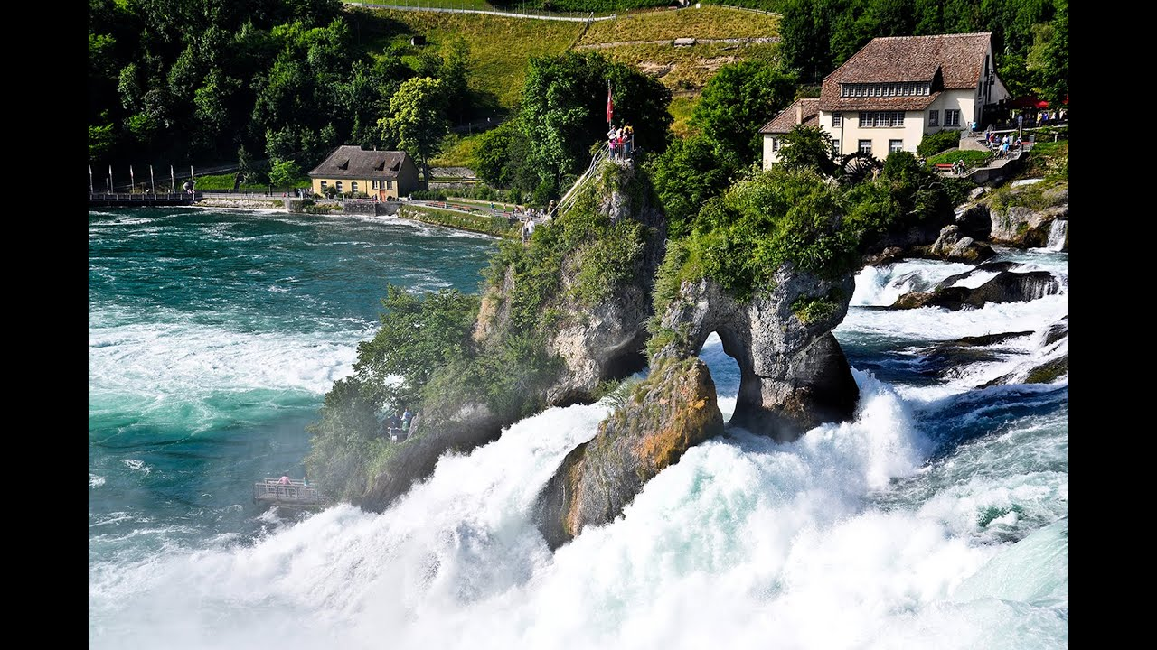 Free Fall Pictures For Wallpaper Half A Day Trip To Rhine Falls Rheinfall Switzerland