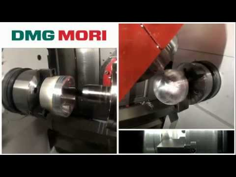 DMG Mori globe part machining with Sandvik Coromant