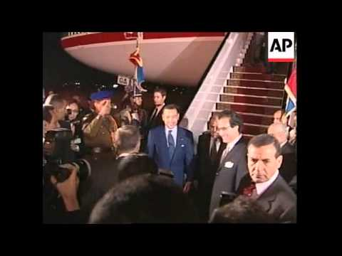 EGYPT: EU & AFRICAN LEADERS SUMMIT PREVIEW