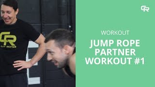 Jump Rope Partner Workout to Complete Together from Crossrope
