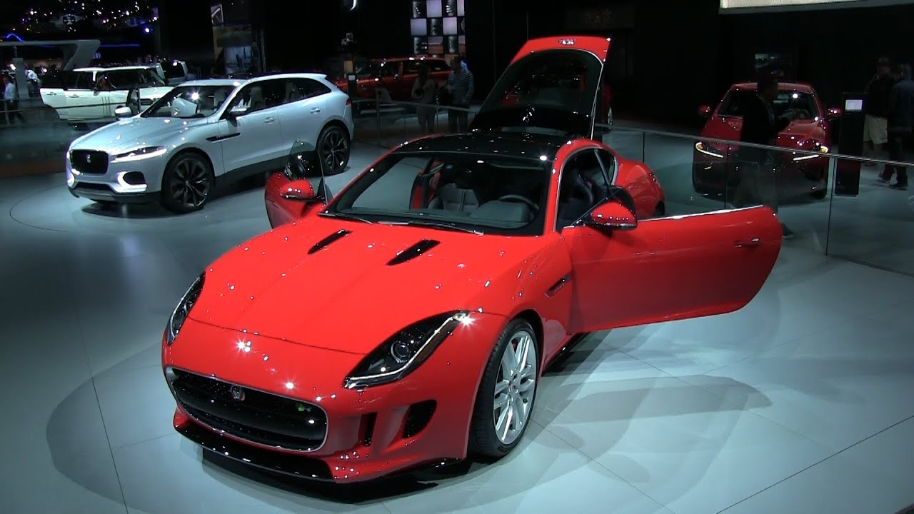 2014 Jaguar F Type Coupe And Jaguar C X17 Sport Crossover SUV At The 2013  LA Auto Show