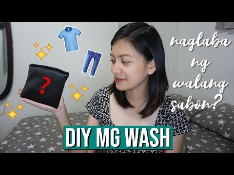 Paano Maglaba Ng Walang Sabon? 🧼 / DIY Magnesium Wash