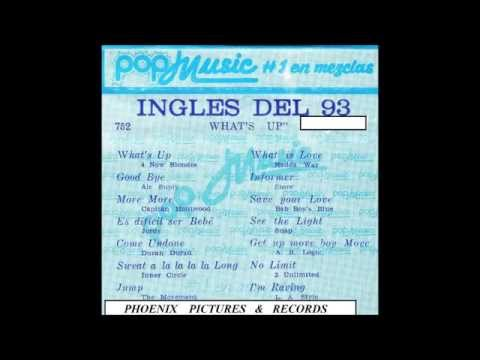 ingles del '93 lado A pop music El Salvador