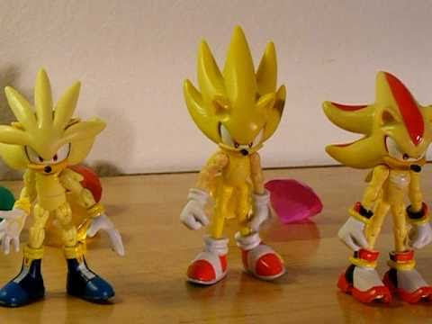 Sonic Super Pack By Jazwares