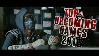 Top 4 Upcoming Games 2018 For Ps4,Xbox One, Xbox 360 || By Gaming World ||
