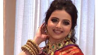 Navratri 2020 Day 6 look on Shrenu Parikh