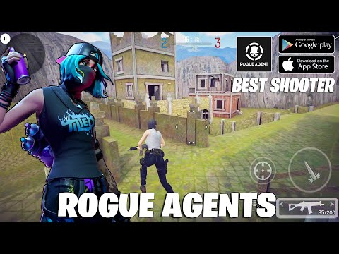Terbaik! Tpp Mode Games - ROGUE AGENTS Gameplay Android ( Update Apk )