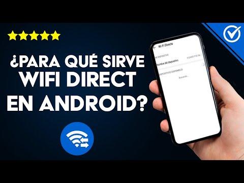 ¿Qué es, Para qué Sirve WiFi Direct y Cómo Configurarlo en Android, iPhone o Smart TV?
