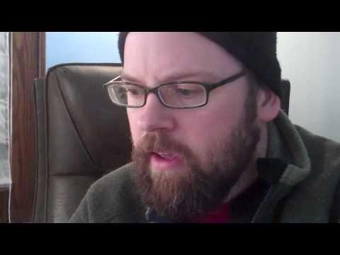 Todd Michael Cox reads the beginning of his novel DIZZLEMUCK