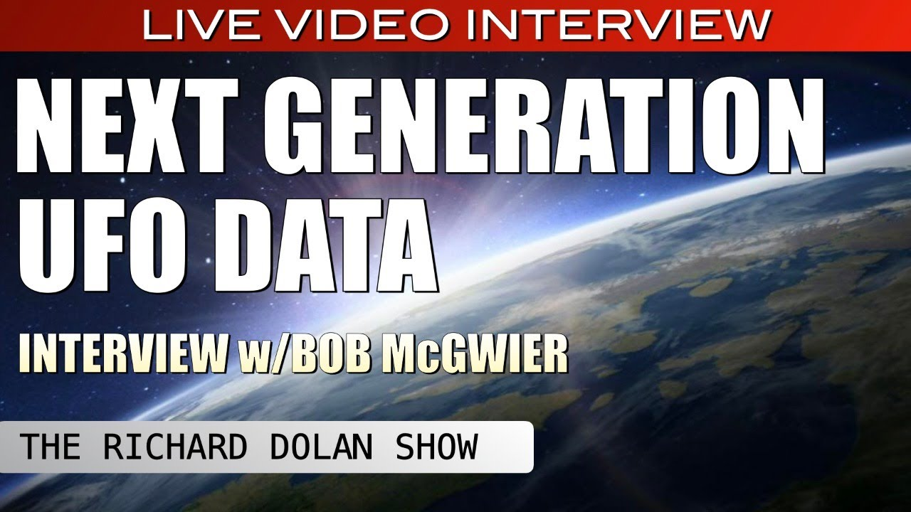 Next Generation UFO Data   The Richard Dolan Show LIVE