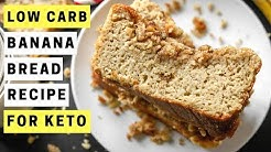 KETO Banana Bread Recipe | How To Make Low Carb Banana Bread | NO SUGAR ADDED 2 NET CARBS