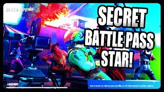 SECRET BATTLE PASS STAR FOUND! NEW EASTER EGG FOUND IN FORTNITE LOADING SCREEN