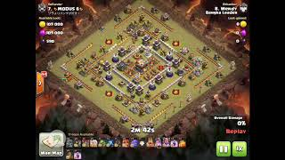 Clash of Clans - 2017-11-23 by Clan Bangka Leader, Clan War, COC, th11, Wendy