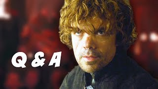 Game Of Thrones Season 4 Q&A - Tyrion Lannister Trial Edition