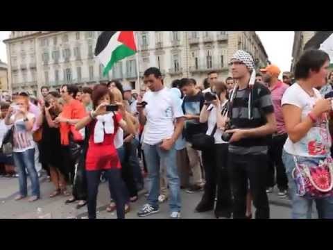 Free Palestine! From Torino (Italy) 13-07-2014