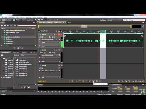 Adobe Audition CS6 Tutorial | Multitrack Recording Techniques | InfiniteSkills