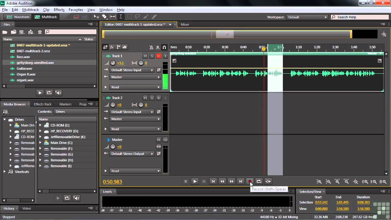 adobe audition cs6 كامل