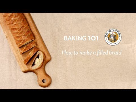 How to make a filled braid